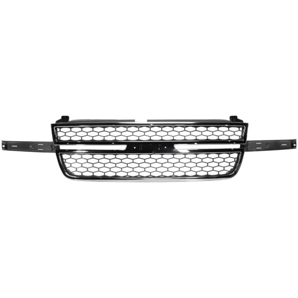 For Chevy Silverado Grille Assembly