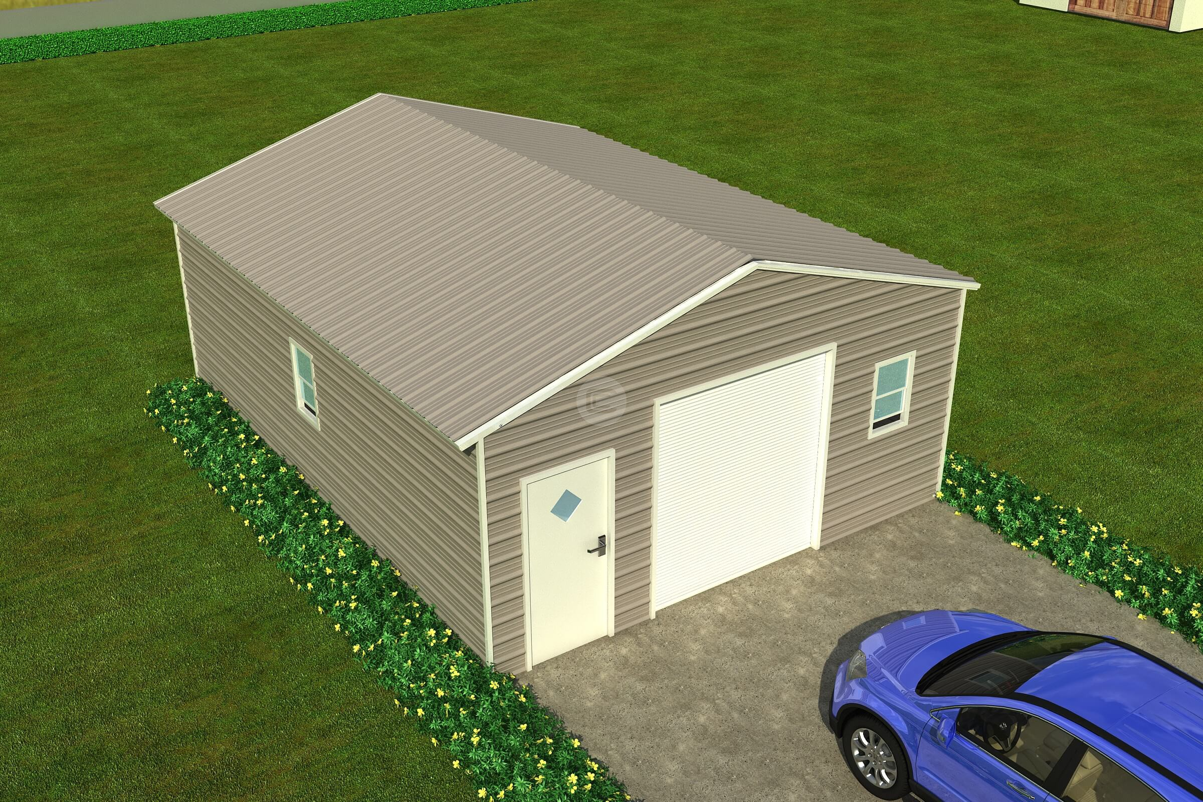 Tips For Maintaining Metal Garages And Metal Carports