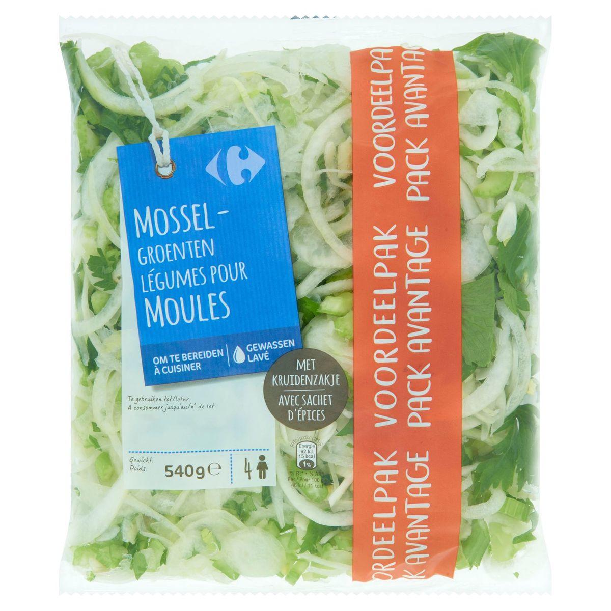 carrefour legumes pour moules avec