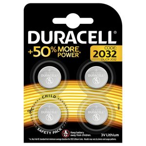 Duracell 4 Piles Cr2032 Carrefour Site