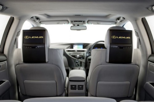 News Widescreen Rear Seat Entertainment For Lexus RX