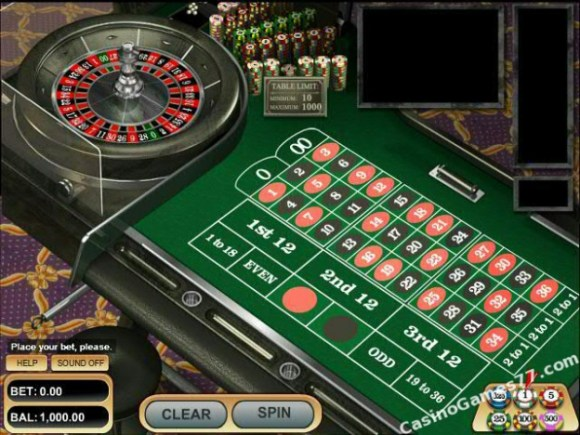 Play VIP American Roulette free casino game by Betsoft