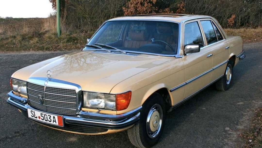 De evolutie van de Mercedes-Benz S-klasse
