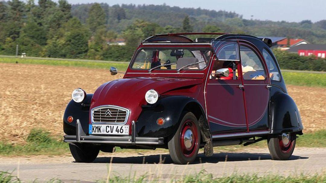 Waarom de Citroën 2CV vandaag de dag zo gewild is