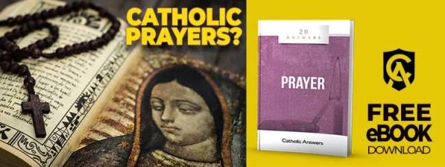 image of Catholic Answers eBook 20 Answers: Prayer