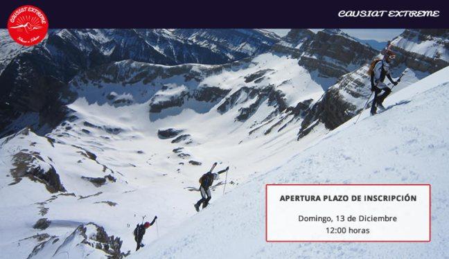Apertura de Inscripciones Copa España Esquí Montaña Pruebas 5 y 6