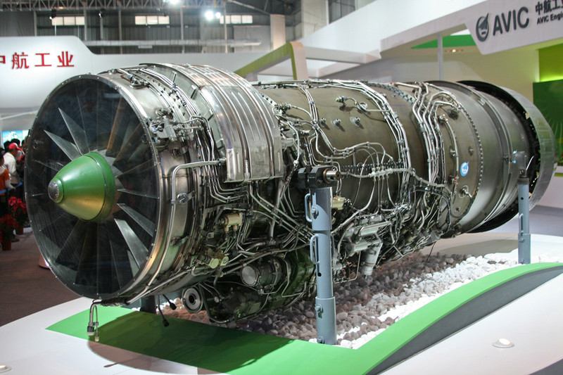 "China's WS-10 ""Taihang"" engine"