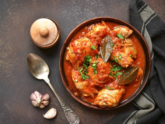 Emeril's Chicken Cacciatore Recipe | CDKitchen
