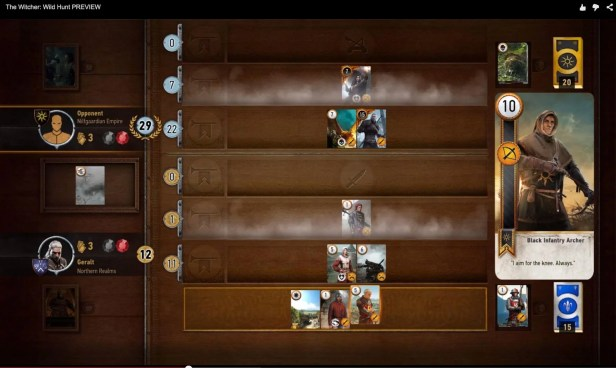 The Witcher III's Card Game Challenges the Notion of Mini-games - 2015-06-08 16:17:00