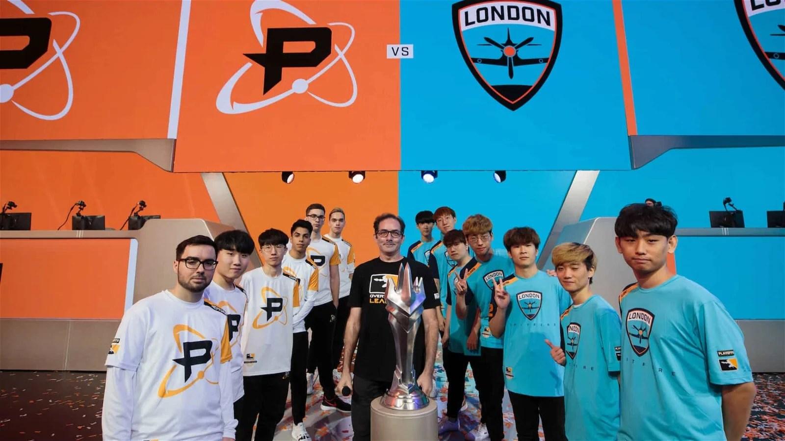 London Spitfire Philadelphia Fusion Reach Overwatch League Grand Final