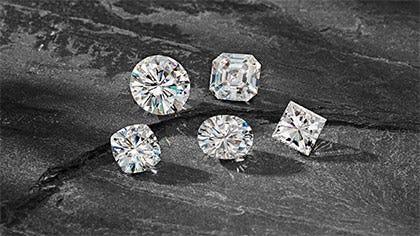 Forever One Moissanite Gemstones