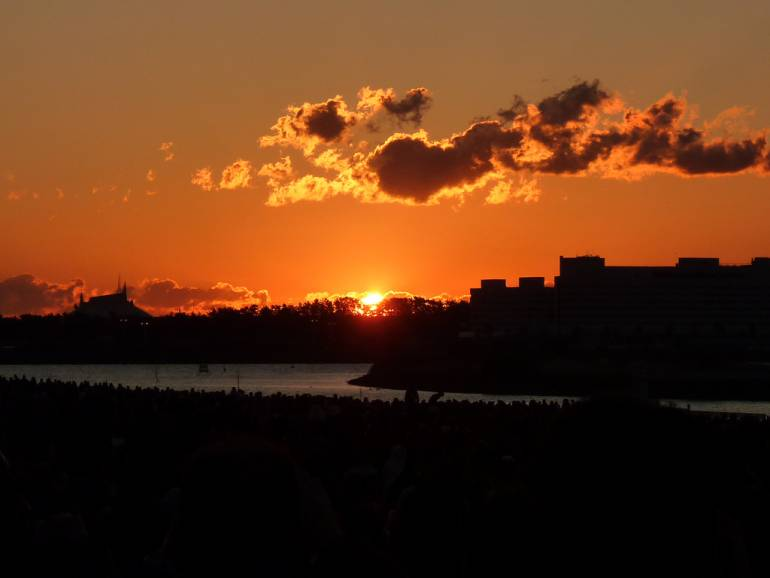 Kasai Rinkai Park Sunrise