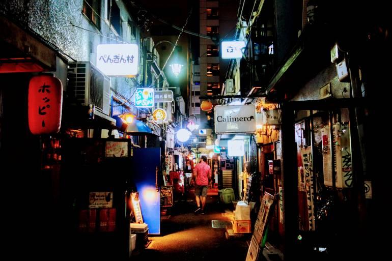 Golden Gai Street
