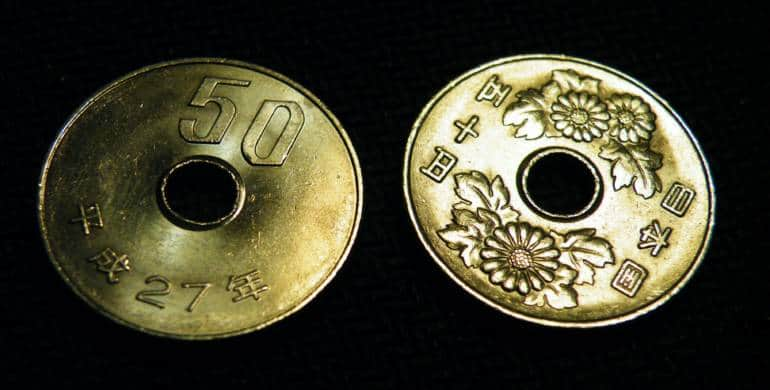 Fifty Yen Coins