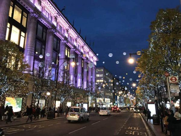christmas lights london 2019 # 5