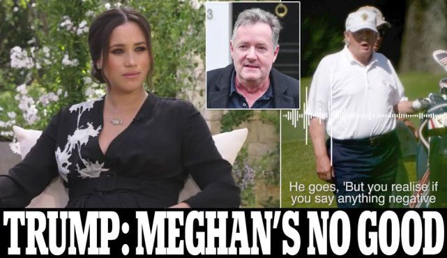 """Australia-Trump talked privately about Meghan's """"she is not good"""", but he dared not say publicly, for fear that he would end up with the British celebrity (Photos) 