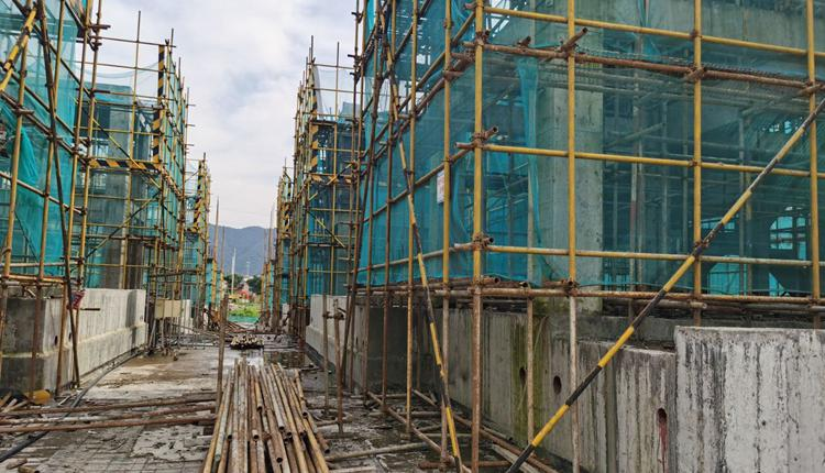 Chinese real estate developers are in debt trouble and unfinished buildings soar