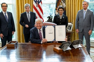 Trump Signs 4 Billion Coronavirus Relief Bill to Provide Additional Funding for Small Businesses and Hospitals