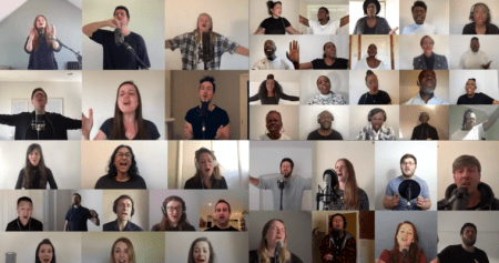 "WATCH: Over 65 Churches in the UK Unite for Virtual Performance of ""The Blessing"""
