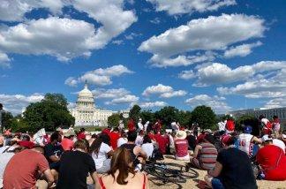 Hundreds of Evangelicals, Including Pastor David Platt, March in D.C. Against Racism and Police Brutality
