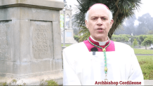 Archbishop of San Francisco Performs Exorcism at Site Where Protesters Tore Down Statue of St. Junipero Serra