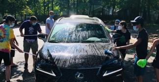 Teens from Massachusetts Church Hold Car Wash to Raise Thousands for Victims of Beirut Explosion