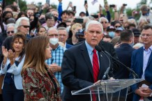 Vice President Mike Pence Speaks at Franklin Graham's Washington Prayer March