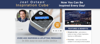 """""""Joel Osteen Inspiration Cube"""" to be Released in September"""
