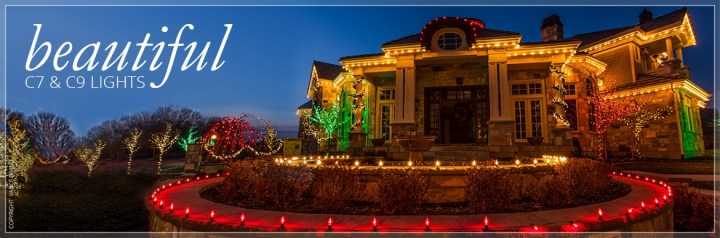 Difference Between C5 C7 C9 Christmas Lights
