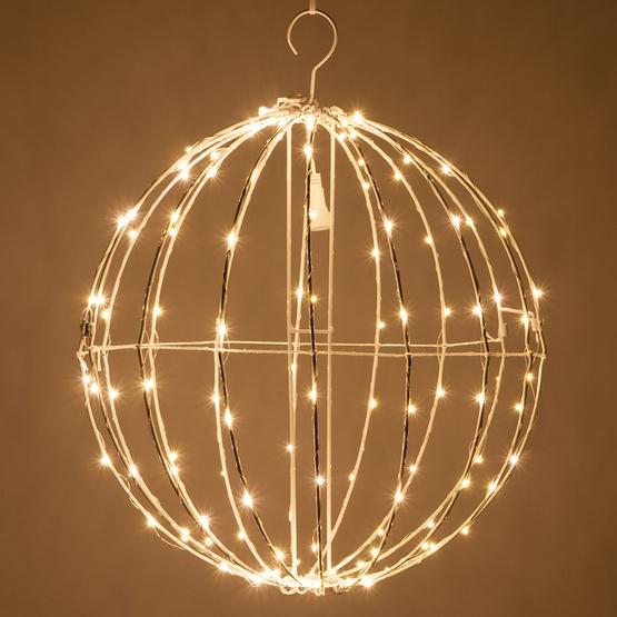 Metal Frame Light Ball With Fairy Lights