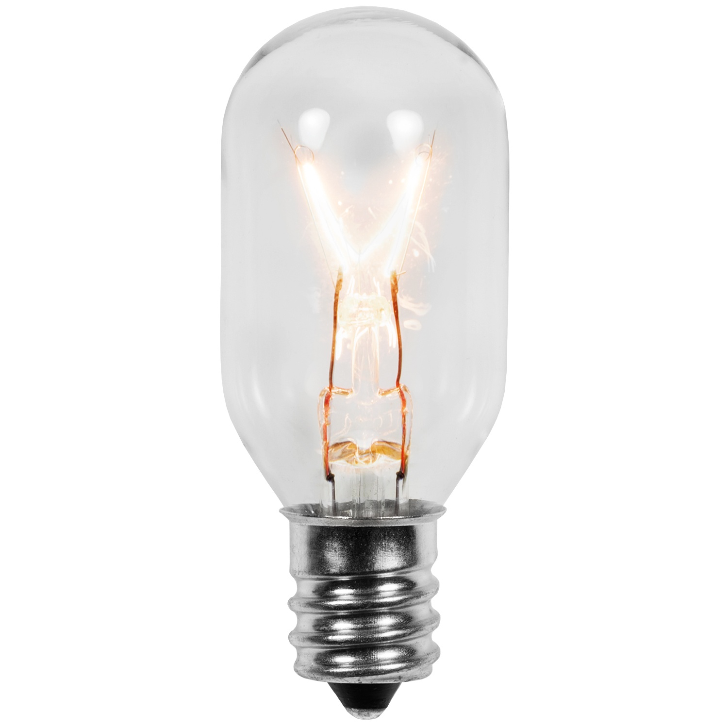 Christmas Lights T22 Clear Replacement Bulb For Moravian