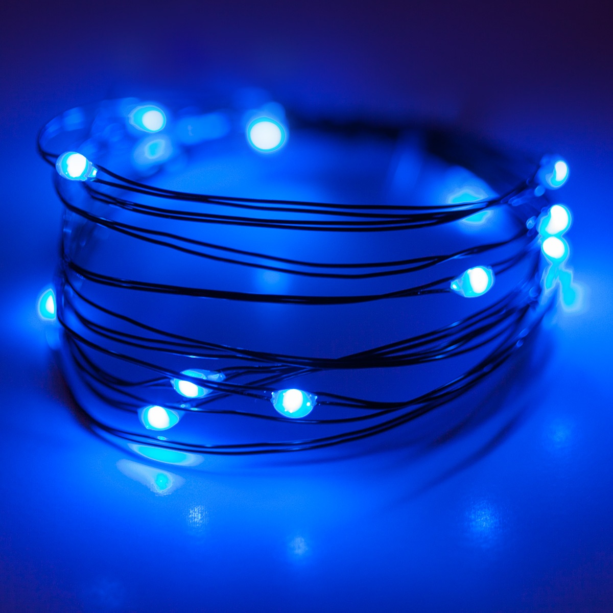 Rope Light Blue