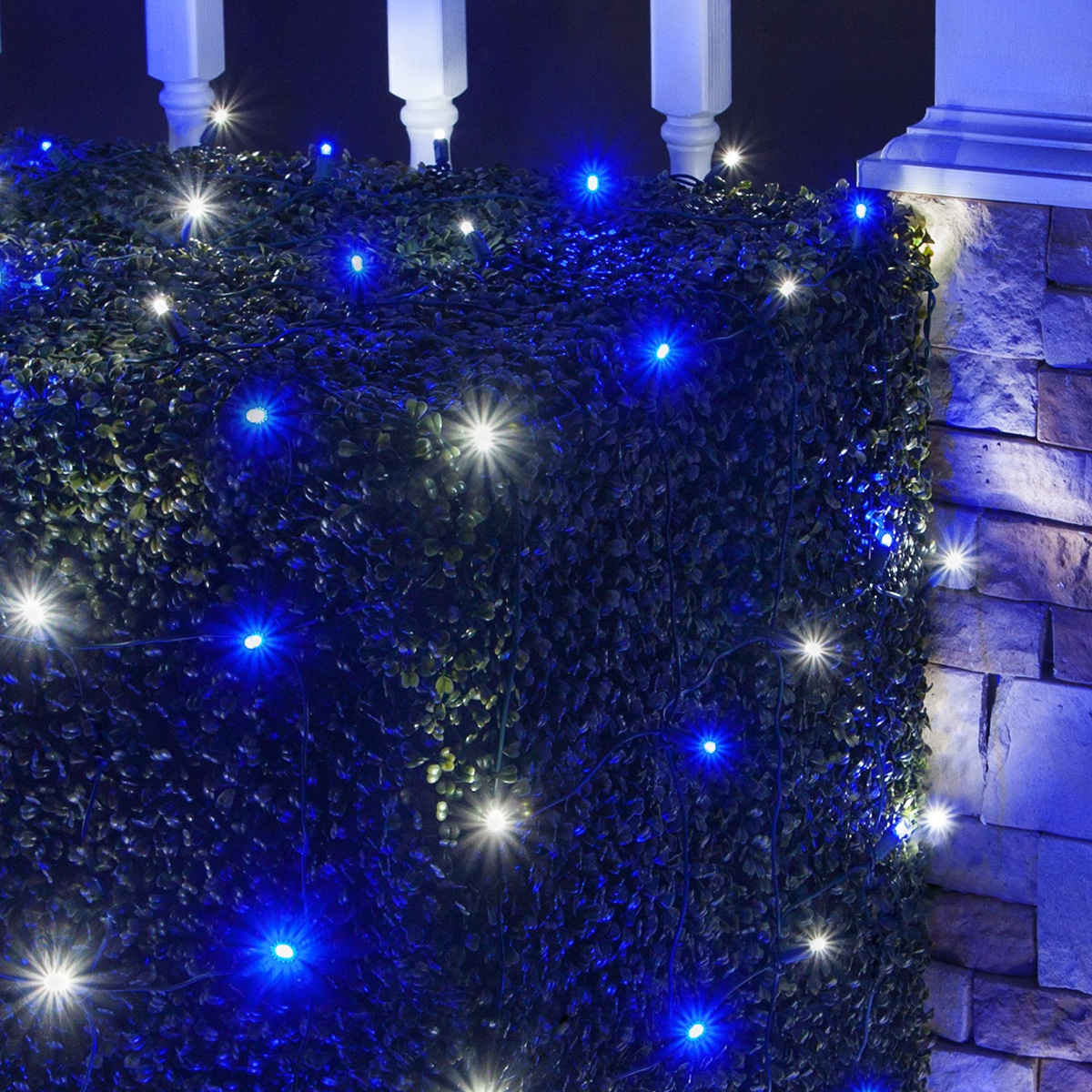 Blue Led Christmas Lights Walmart