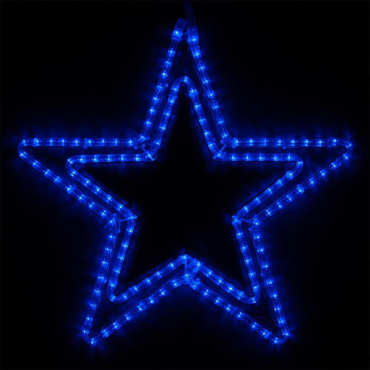 Snowflakes Amp Stars 24 Classic LED Blue Star