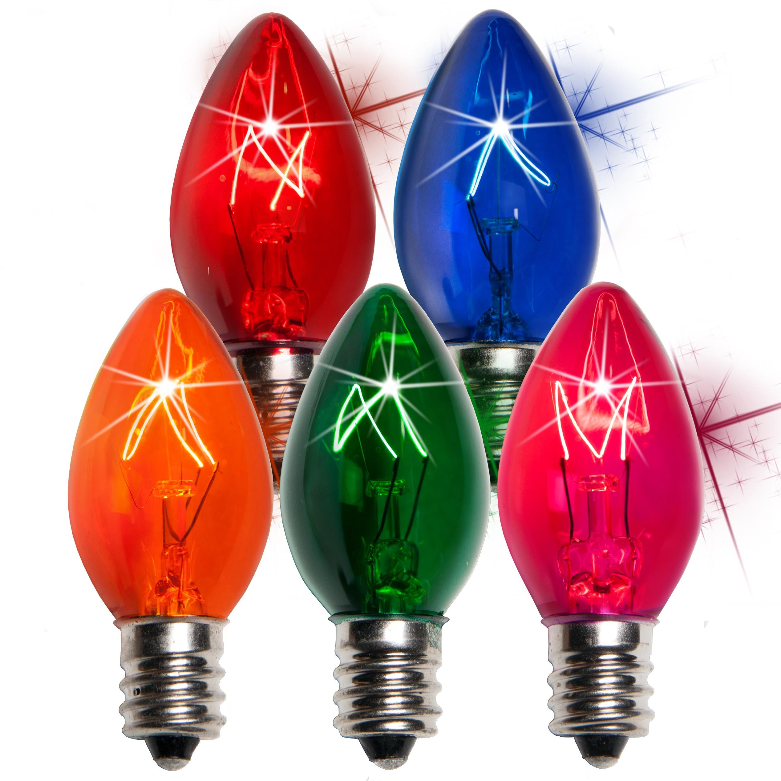 Replacement Outdoor Christmas Light Bulbs