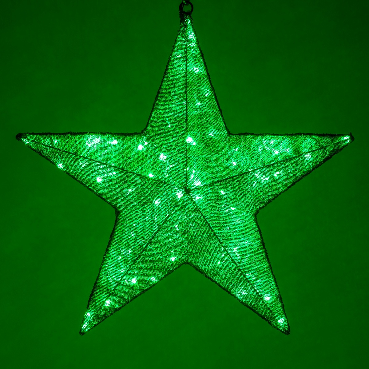 Christmas Green Lights Led