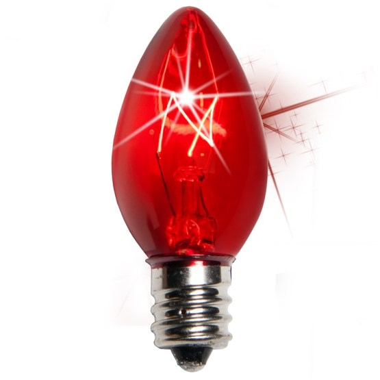 C7 Christmas Light Bulbs