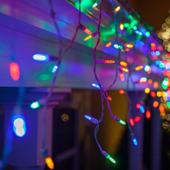 Led Icicle Christmas Lights Outdoor