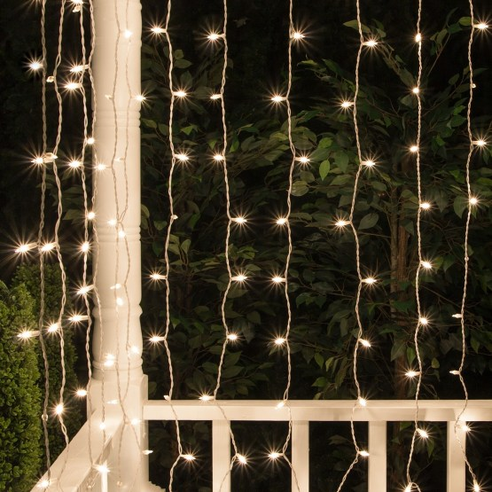 Christmas Icicle Light Clear
