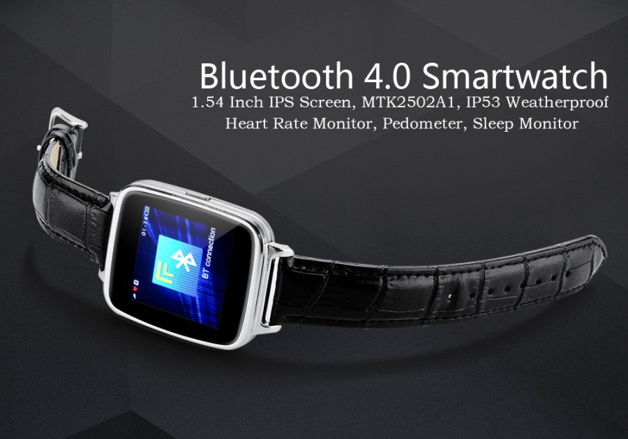 Bluetooth 4.0 Smartwatch