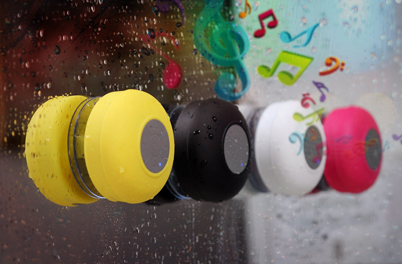 Bluetooth Shower Speaker 'AquaSound'