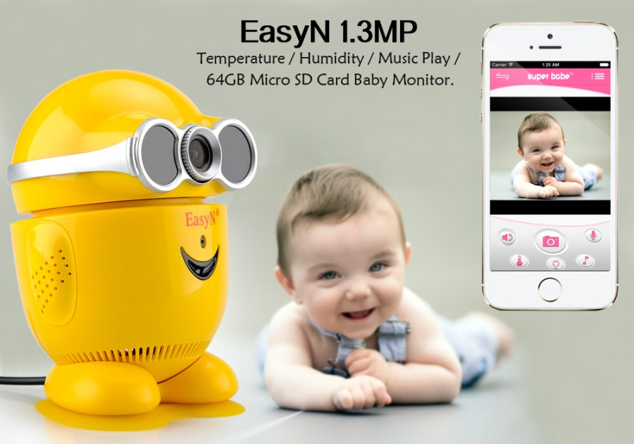 EasyN Baby Monitor + IP Camera