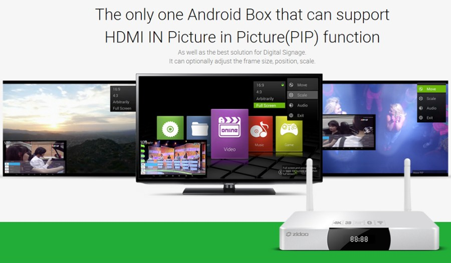 ZIDOO X9 Android TV Box