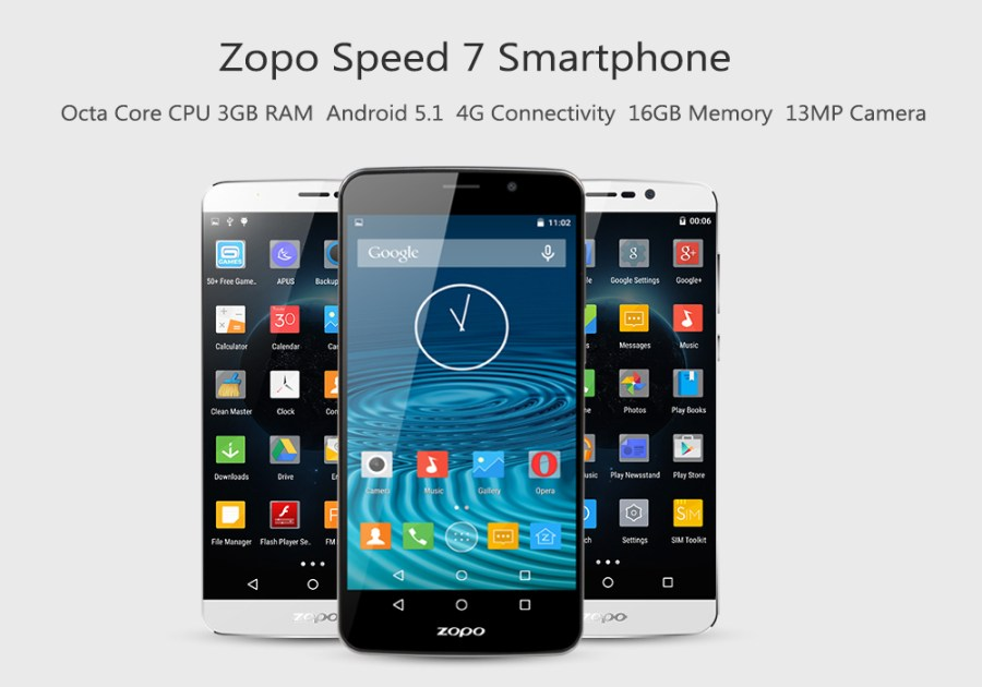 Zopo Speed 7 Plus Smartphone