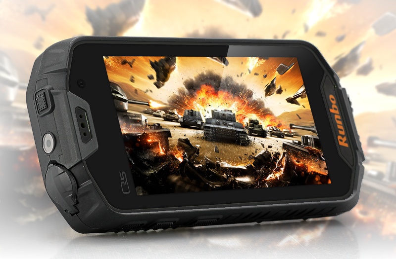 Runbo Q5S Android Rugged Smartphone