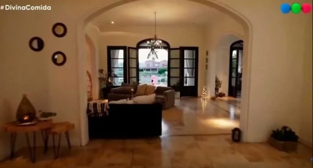 La lujosa mansión de la modelo