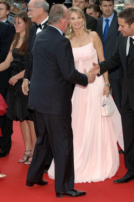 Corinna Larsen, la examante del Rey Juan Carlos, acusada de ...