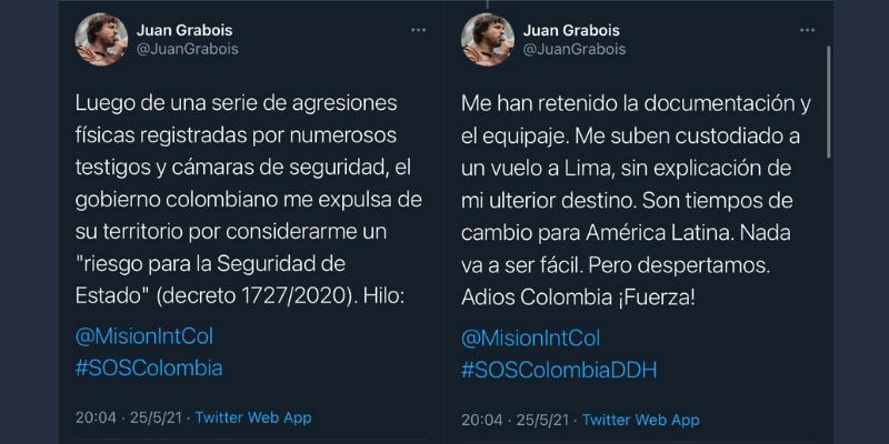 El hilo de Twitter de Juan Grabois