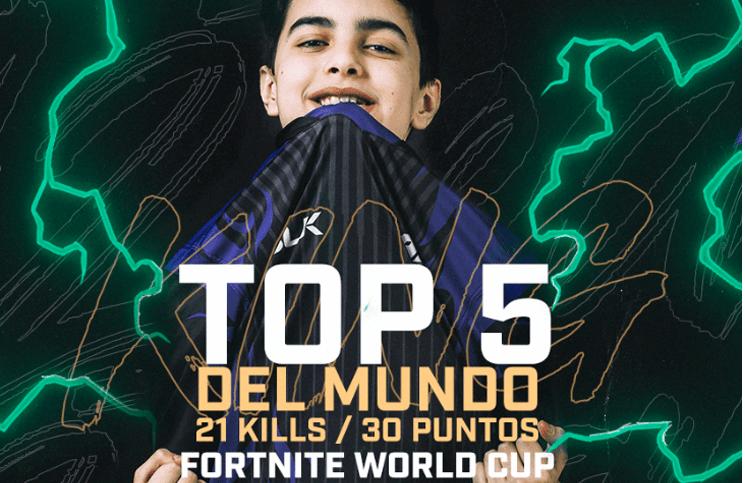 Resultado de imagen para mundial de fortnite un argentino de 13 años quedó entre los 5 mejores y ganó 900 mil dólares