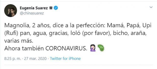 China Suárez.